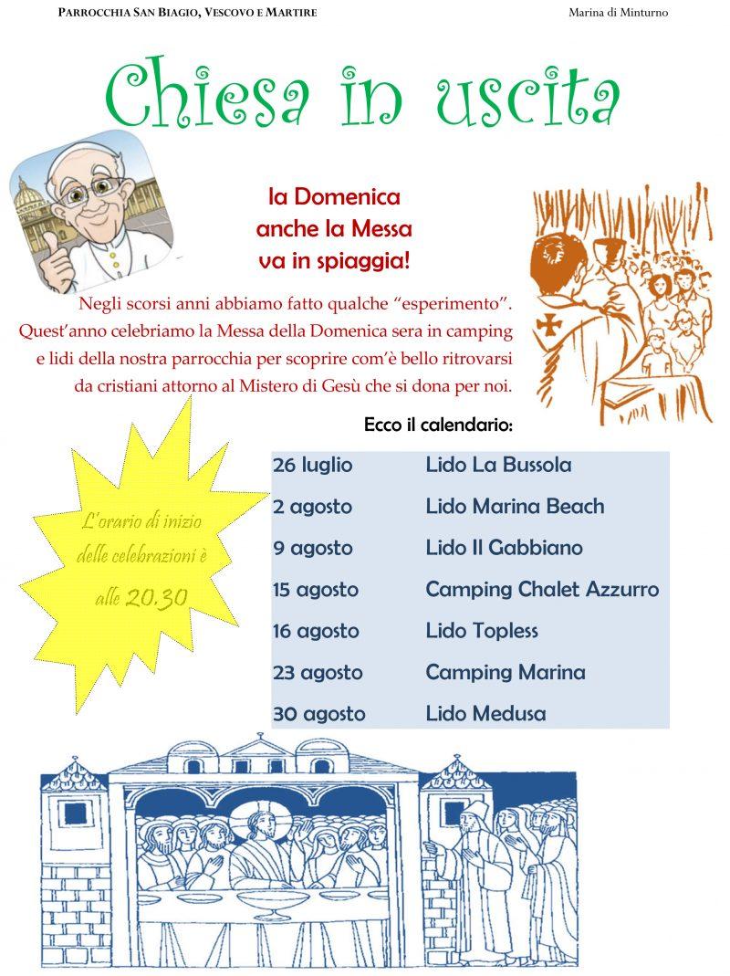 San Biagio Giorno Calendario.Parrocchia San Biagio Marina Di Minturno Arcidiocesi Di