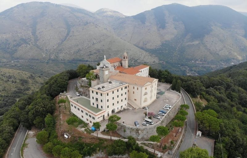 Casa di Spiritualità Pio X, Santuario della Civita - Itri