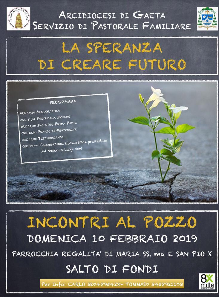 Fondi Incontri al Pozzo febbraio 2019