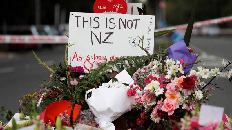 Nuova Zelanda lutto