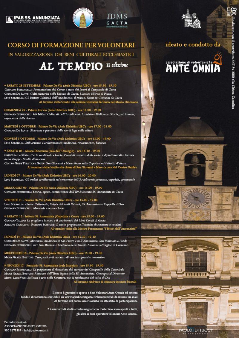 Corso Al Tempio II edizione